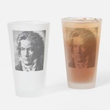 Beethoven Portrait Drinking Glass