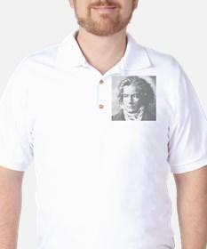 Beethoven Portrait Golf Shirt