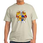 Azcarate Family Crest Light T-Shirt
