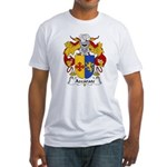 Azcarate Family Crest Fitted T-Shirt