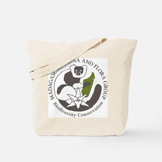 Single-Sided Logo Tote Bag