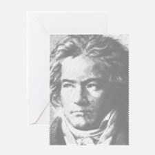 Beethoven Portrait Greeting Cards
