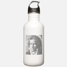 Beethoven Portrait Water Bottle