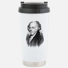 John Adams Stainless Steel Travel Mug