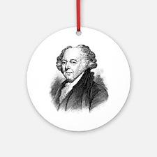 John Adams Round Ornament