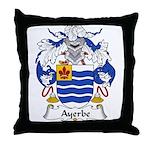 Ayerbe Family Crest Throw Pillow