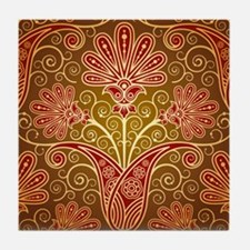 Pretty Pattern Tile Coaster