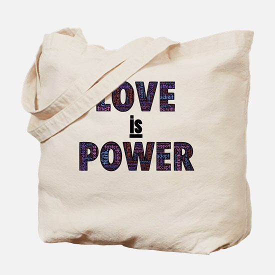 love is power Tote Bag