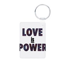 love is power Keychains