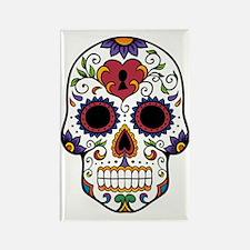 Funny Heart skull Rectangle Magnet