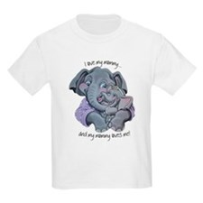 Mother Elephant And Baby T-Shirt