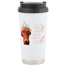 All About Me Vizsla Travel Mug
