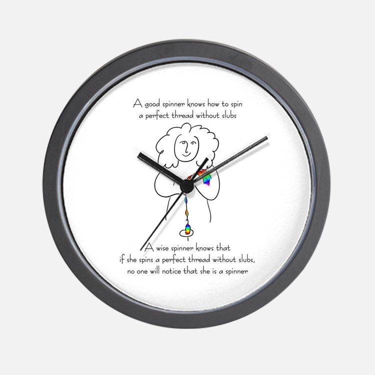 wise spinner.png Wall Clock