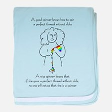 wise spinner.png baby blanket