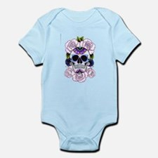 sugar skull and roses Body Suit