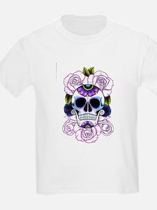 sugar skull and roses T-Shirt