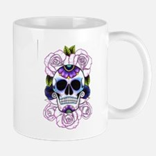 sugar skull and roses Mugs
