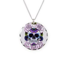 sugar skull and roses Necklace