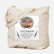 Veteran's Vow Tote Bag