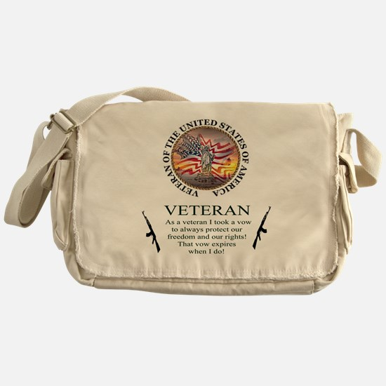 Veteran's Vow Messenger Bag