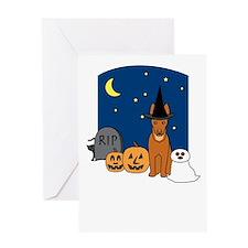 Howling Good Halloween Greeting Card
