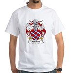 Asturias Family Crest White T-Shirt
