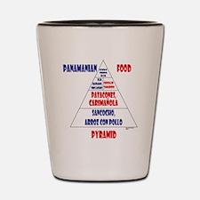Panamanian Food Pyramid Shot Glass