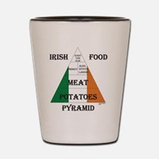 Irish Food Pyramid Shot Glass