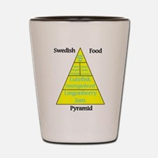 Swedish Food Pyramid Shot Glass