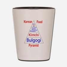 Korean Food Pyramid Shot Glass