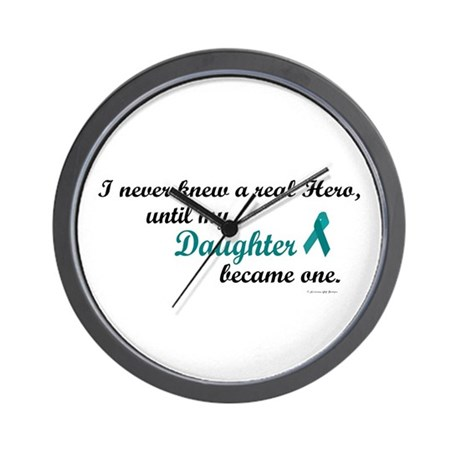 Never Knew A Hero OC (Daughter) Wall Clock