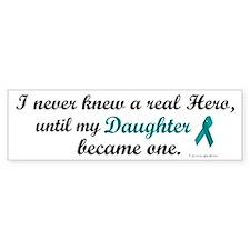 Never Knew A Hero OC (Daughter) Bumper Bumper Stickers