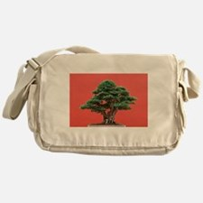 Yew bonsai Messenger Bag