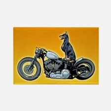 Dobercycle Rectangle Magnet