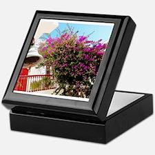 Bell Flowers Keepsake Box