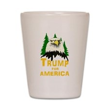 Trump for America Shot Glass