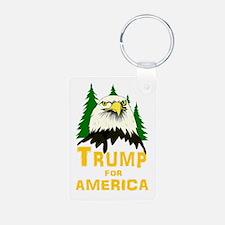 Trump for America Keychains