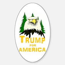 Trump for America Sticker (Oval)