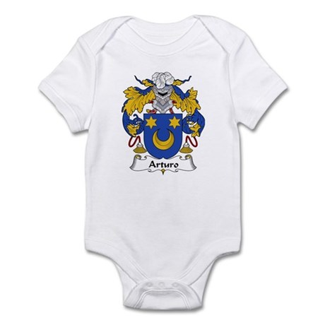 Arturo Family Crest Infant Bodysuit