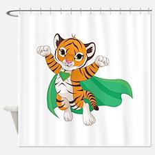 Super Hero - Shower Curtain