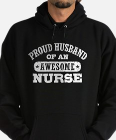 Proud Husband of an Awesome Nurse Hoodie