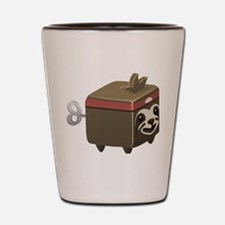 Sloth Cubimal Shot Glass