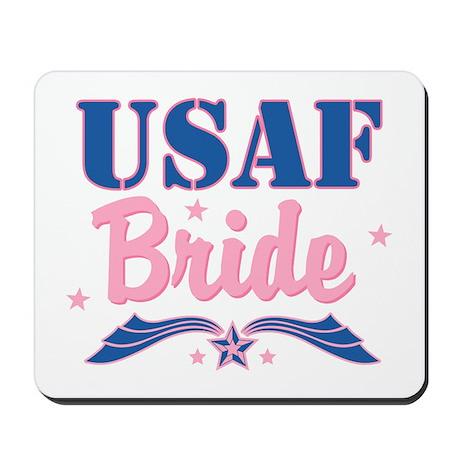 Star USAF Bride Mousepad