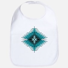 Native Style Turquoise Sunburst Bib