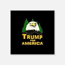 """Trump for America Square Sticker 3"""" x 3"""""""