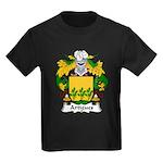 Artigues Family Crest Kids Dark T-Shirt