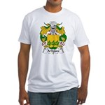 Artigues Family Crest Fitted T-Shirt