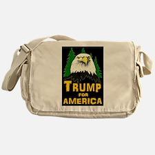 Trump for America Messenger Bag