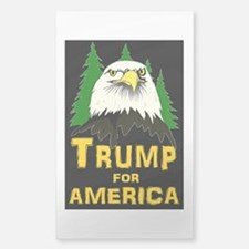 Trump for America Sticker (Rectangle)