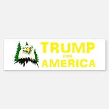 Trump for America Sticker (Bumper)